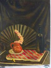 FAGLIARINI signed Oil on Canvas Still Life