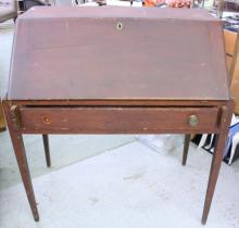 Antique Rustic Drop Front desk