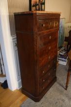 Antique French Bureau Desk Drop Down