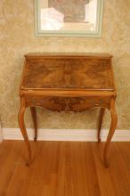 Antique French StyleLadies Writing Desk drop front