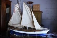 Hand Made Model Sailboat