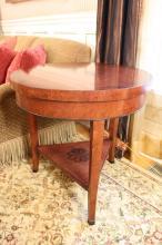 Italian Lamp Table  WILLIAM SWITZER