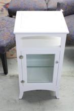 WATERWORKS White Bathroom Cabinet