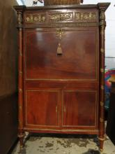 Continental Wood Bar Cabinet,