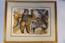 THEO TOBIASSI signed Titled and marked H.C. litho