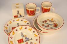 TIFFANY Toy china set MASON'S made in England