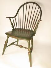 Six Reproduction Colonial WINDSOR Chairs