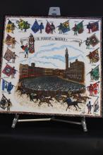 IL Palio di Ciena Vintage Framed Poster
