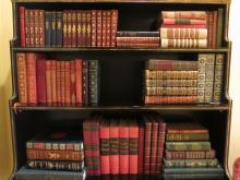 Collection of  Antique Leather Books
