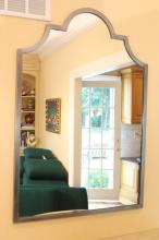 LA FORGE FRANCAIS Brushed Steel Mirror