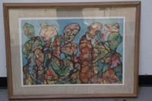 ROME, Harold. 1961  A Dream of Fair Women Painting