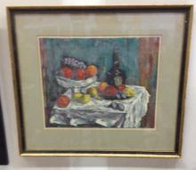 SHOULBERG, Harry. Hand Signed Serigraph