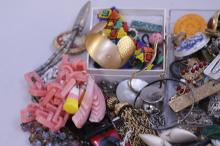 Mixed Lot of Vintage& New Costume Jewelry
