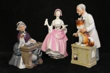 Three Royal Doulton Figurines