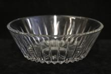 Val St Lambert Crystal Serving Pieces