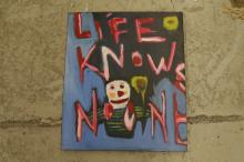 Unsigned Acrylic on Canvas