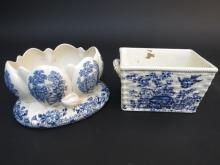 Antique English Centerpiece Bowls