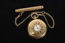 Antique Victorian 18kt Gold Pocket Watch c. 19th c