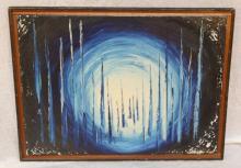 MARIO GRIMALDI oil on canvas