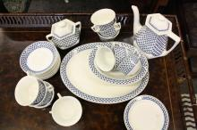 ADAMS ironstone English coffee service