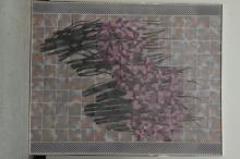 ROSS, Stephanie. Flower Abstract Oil on canvas