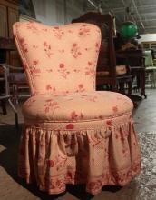 Upholstered Vanity Chair