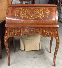 French Rolltop Secretary Reproduction
