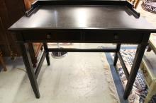 Painted Matte finish black desk