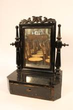 Antique English Early Dresser top mirror