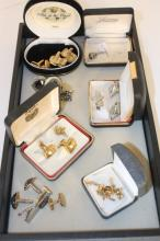 Jewelry Group Vintage & New Cufflinks