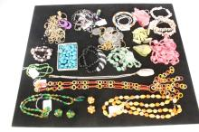 Group Lot Vintage and Costume Jewelry