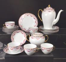 Partial Tea Set Czechoslovakia China