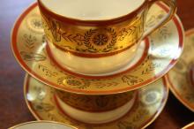 LIMOGES porcelain coffee service lot