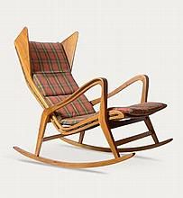 Gio Ponti rocking chair