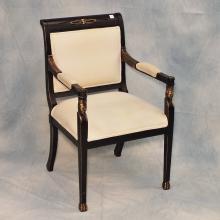 Ebonized Chair