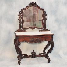 Carved Victorian Dresser