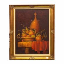 Framed Oil on Canvas Still Life  44