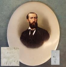 KPM Plaque Portrait