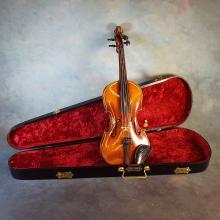 c.1910 Antonius Stradivarius Reproduction Violin in Case