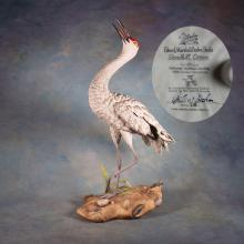 Sandhill Crane Boehm Porcelain Statue - Signed & Numbered by Helen F Boehm    20