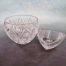 Waterford Crystal Bowl (chigger bite on rim) 4