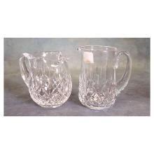 Pr Waterford Crystal Pitchers   6.25