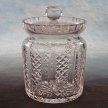 Waterford Crystal Covered Biscuit Jar   6