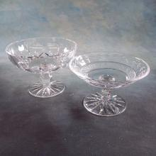 2 Waterford Crystal Compotes (3.75
