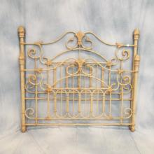 Queen-sized Iron Bed w/Rails