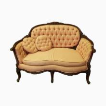 French Settee (fabric as-is)