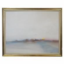 Framed Contemporary Oil on Canvas, signed Anthony Krikhaar, 40