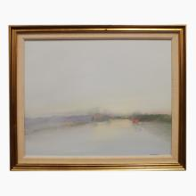 Framed Contemporary Oil on Canvas, signed Anthony Krikhaar, 22