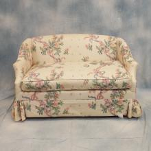 Upholstered Down Settee