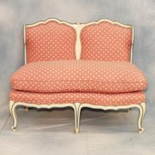 19th Century Upholstered French Settee